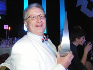 Me With 'Tax Writer Of The Year' Award