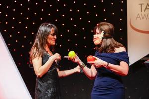 Nina Conti at Tax Awards