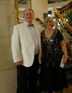 Patricia & Peter all dressed-up