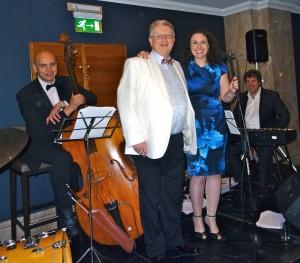 Peter with Jazz Band_Tax Awards 2014