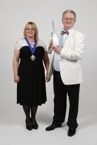 Peter with Natalie Miller - President ATT_Tax Awards 2014