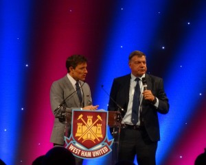 Sam At West Ham Dinner