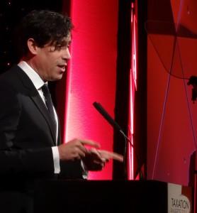 Stephen Managan at Tax Awards 2014