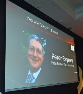 Tax Writer Of The Year-screen photo_ 2014
