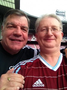 Selfie with Big Sam