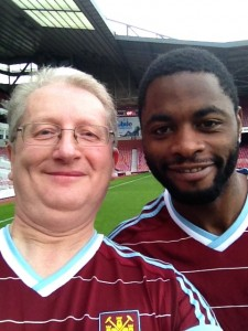 Selfie with Alex Song
