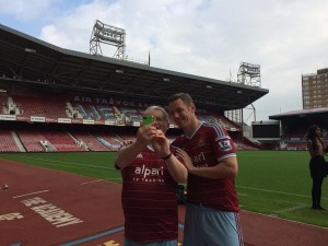 Photo of Selfie with Kevin Nolan!