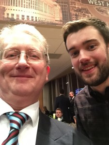 With Jack Whitehall (Gooner Supporter)