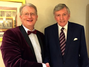 Photo opportunity with the legendary Martin Peters
