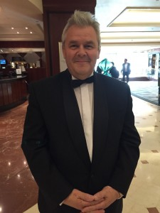 Our guest - Roy Smith - always scrubs up well!Our guest - Roy Smith - always scrubs up well!