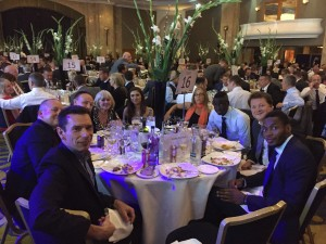 The PRTC table at the awards