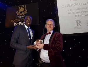 official photo at WHU Player Awards