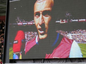 Mark Noble interview on Big Screen