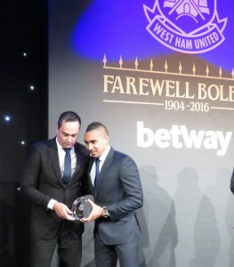 Dimitri ('We've Got') Payet cleaned up by taking five awards