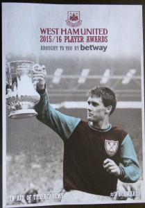 West Ham Utd Player Awards 2015/16 Brochure