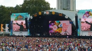 The Hyde Park Crowd awaiting the next act