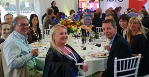 PRTC guests at table