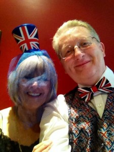 Patricia and Peter 'selfie'