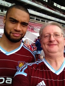 Selfie with Winston Reid