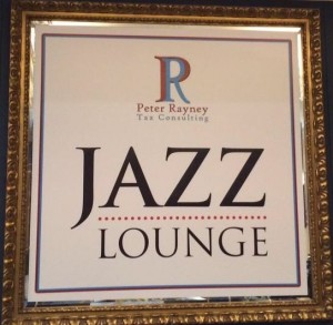 We love sponsoring the Jazz Lounge...