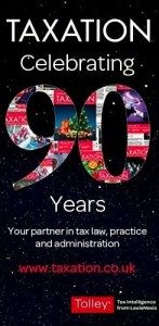 TAXATION's 90th Birthday