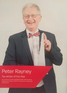 As appearing in the Taxation Awards Winners Brochure