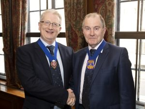 Inauguration as CIOT Deputy President - with Ray McCann